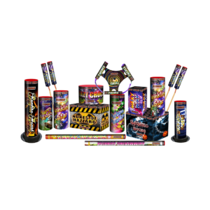 Jamboree Selection box of fireworks by Jonathans Fireworks